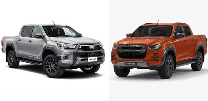 Ford Ranger Rivals
