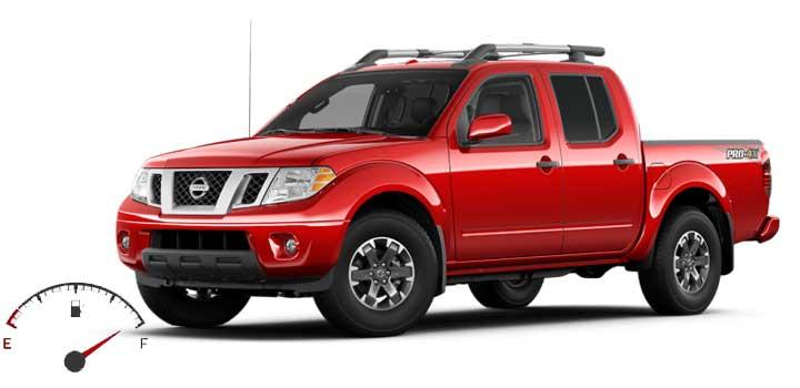 Nissan Frontier MPG