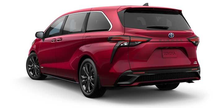 Toyota Sienna gas mileage