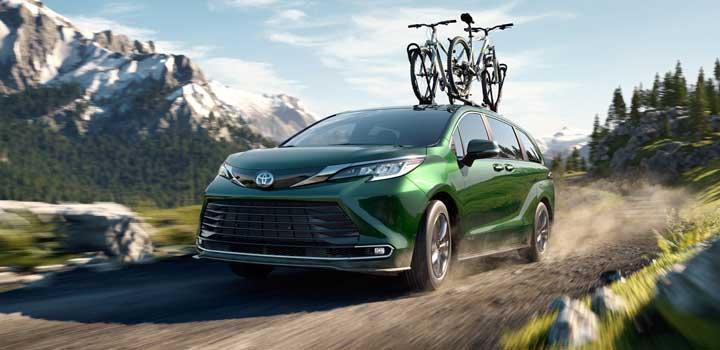 Toyota Sienna hybrid MPG