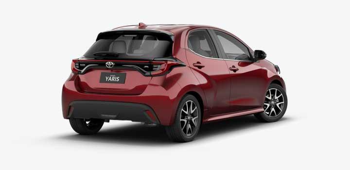 Toyota Yaris gas mileage