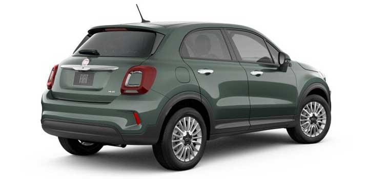 Fiat 500X gas mileage