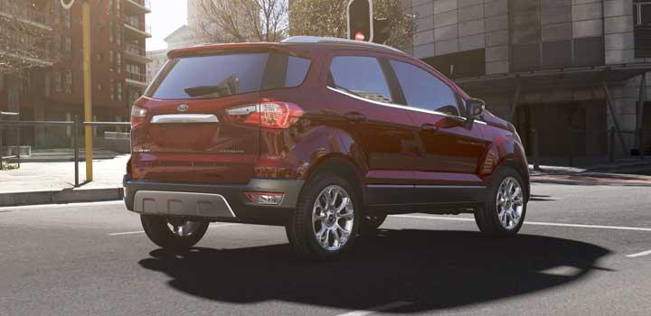 Ford EcoSport gas mileage