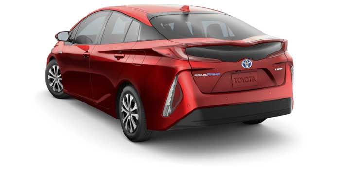 Toyota Prius Prime gas mileage